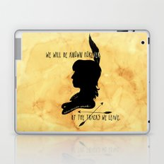 We Will Be Known Forever by the Tracks We Leave Laptop & iPad Skin