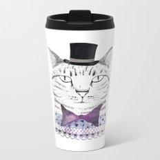 MR. CAT Metal Travel Mug