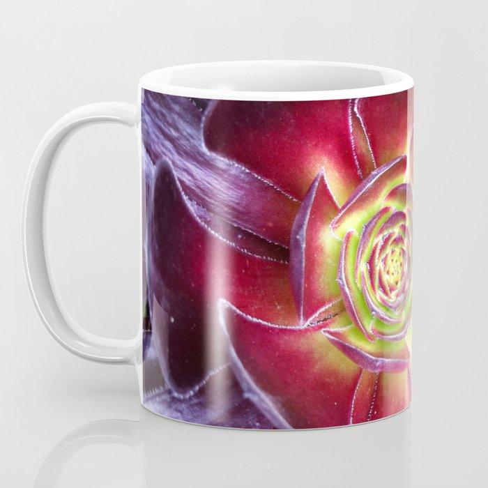 Red Succulent Coffee Mug