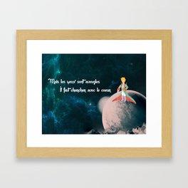 Le Petit Prince Framed Art Print