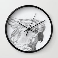 rio Wall Clocks featuring Rio by Amy Lawlor Creations