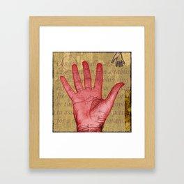 Handy Too Framed Art Print