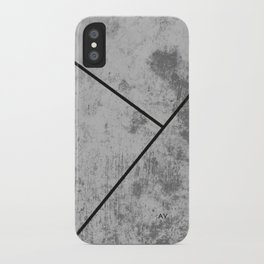 Concrete Textura iPhone Case