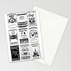 chinese teabox collection Stationery Cards