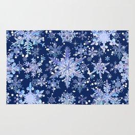 Snowflakes #3 Rug