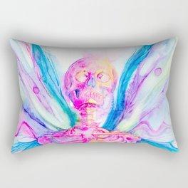 Butterfly Skeleton Rectangular Pillow
