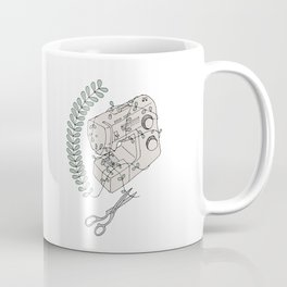 The Sewing Machine Escape Coffee Mug