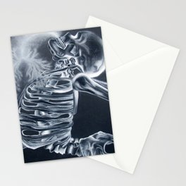 Breathing X-Rays Stationery Cards