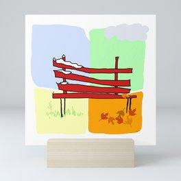 seasons Mini Art Print