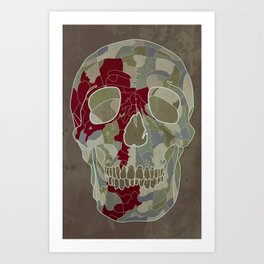 Road Map to Hell Art Print
