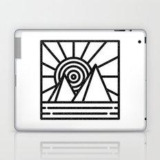 minmal mountain Laptop & iPad Skin