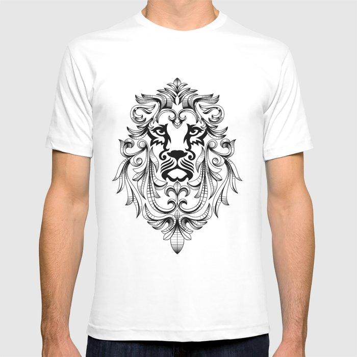 Heraldic Lion Head T-shirt