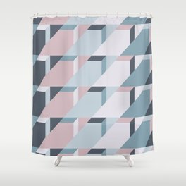Nordic Winter #society6 #nordic #pattern Shower Curtain