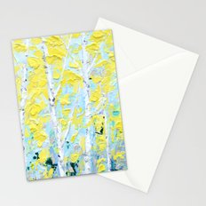 New England Paper Birch Stationery Cards