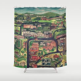 Lake Placid | Olympics & The Sugar Shack Shower Curtain