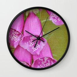 Magenta Chorus Wall Clock