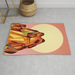 TOUCHING THE VOID Rug