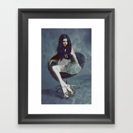 Ask Alice Framed Art Print