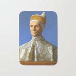 "Giovanni Bellini ""The Portrait of Doge Leonardo Loredan"" Bath Mat"
