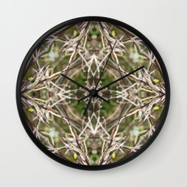 River Cane Wall Clock