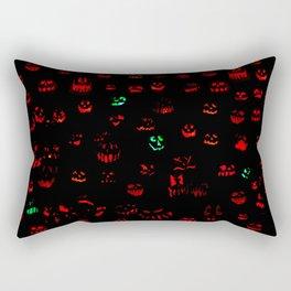 Jack-O-Lanterns 002 Rectangular Pillow
