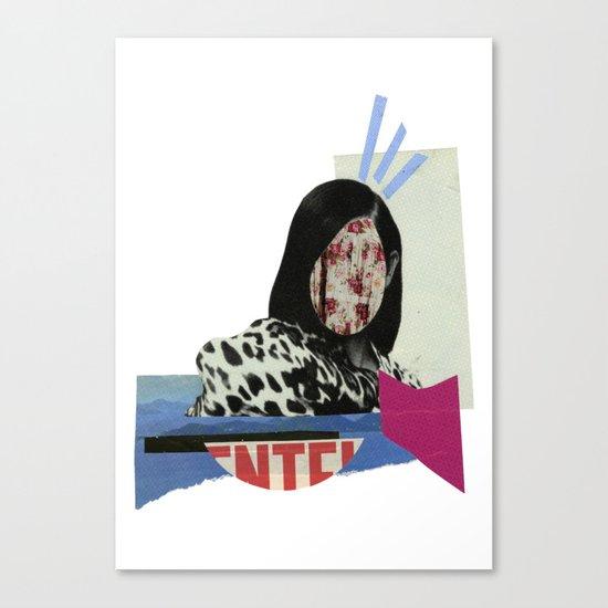 stunned Canvas Print