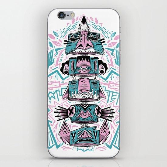 Toto-Tem iPhone & iPod Skin