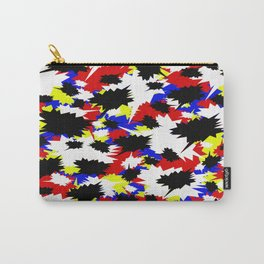 COMIC BOOK PATTERN Carry-All Pouch