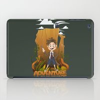 adventure is out there iPad Cases featuring Adventure by BlancaJP