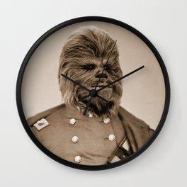 Portrait of Sir Chewie Wall Clock