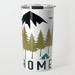 Wilderness Home Travel Mug