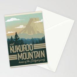 Kukuroo Mountain Illustration Stationery Cards