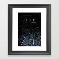 rthm ground Framed Art Print