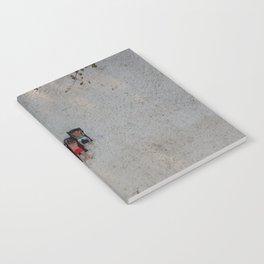 Aerial Beach Towels Notebook