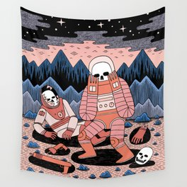Death in Space II Wall Tapestry