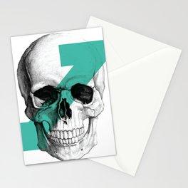 skull7 Stationery Cards