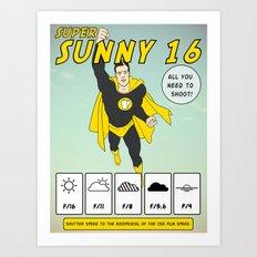 Sunny 16 Art Print