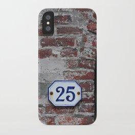 25 iPhone Case