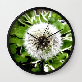 Dandelion More Than A Weed Wall Clock