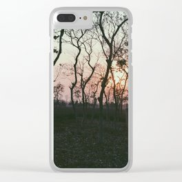 Sunset in Bangladesh Clear iPhone Case