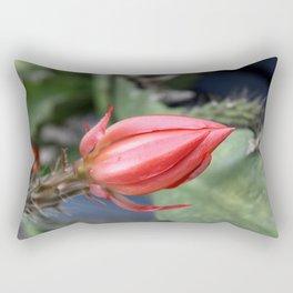 Beautiful Cactus Bud Rectangular Pillow