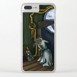 The Door to Nowhere Clear iPhone Case