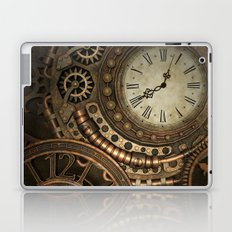 Steampunk Clockwork Laptop & iPad Skin