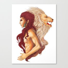 Inner Courage Canvas Print