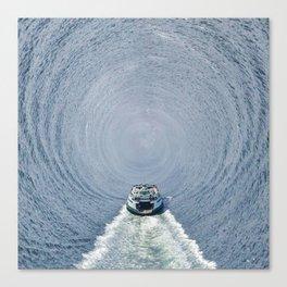 Ferry Warp Canvas Print