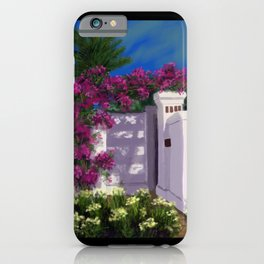 Santa Barbara Bougainvillea DP150606a iPhone Case