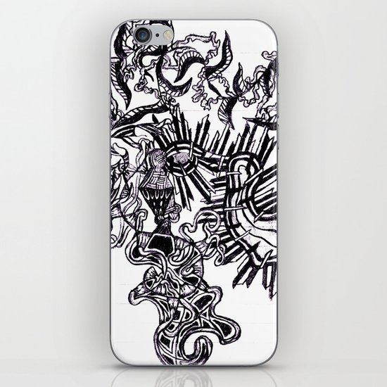 Four Way Branch iPhone & iPod Skin