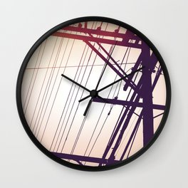 SP wires 4 Wall Clock