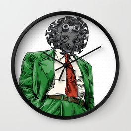 blow my mind Wall Clock