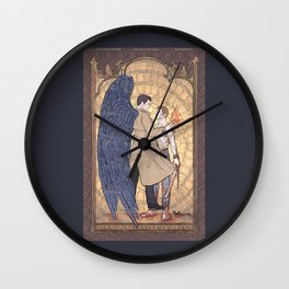 Angelic Intervention (Dean Winchester is Saved) Wall Clock